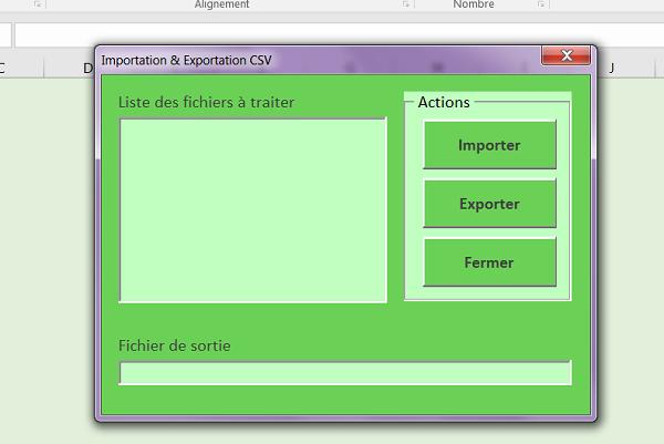 Importer Et Exporter Des Donnees En Vba Excel