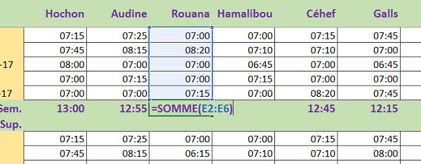 Calculs Sur Les Heures Et Dates Dans Excel