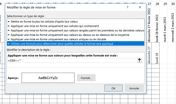 Faire Calendrier Excel.Creer Des Calendriers Et Plannings Automatiques Avec Excel