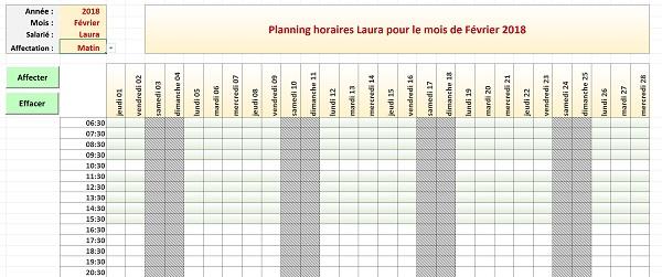 cr u00e9er des calendriers et plannings automatiques avec excel