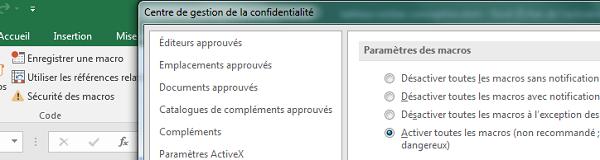 Décrit un problème dans lequel vous recevez une erreur « Impossible d'ouvrir le fichier » message lorsque vous essayez d'ouvrir un classeur que vous recevez dans un message électronique pour révision dans Excel 2007. Fournit une solution de contournement.