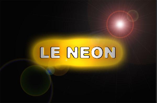 Seletti neon lettre