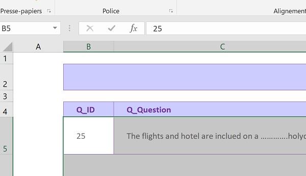 Application D Evaluation Par Qcm En Vba Excel
