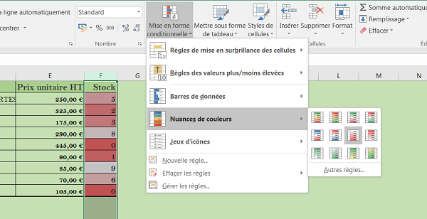Facturation Clients Excel Avec Gestion De Stocks Vba