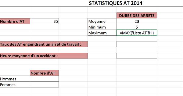 Denombrement Statistique Multi Criteres Avec Excel