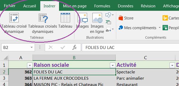Tableaux Croises Dynamiques D Excel