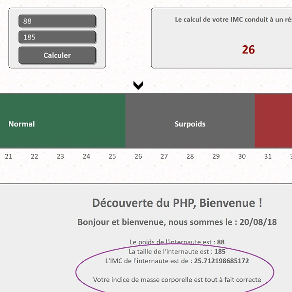 Analyse multicritère grâce aux instructions switch en programmation PHP