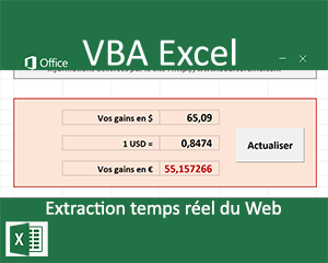 Application connectée à Internet en VBA Excel