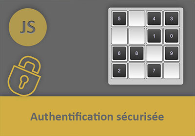 Authentification sécurisée anti-keylogger en Javascript