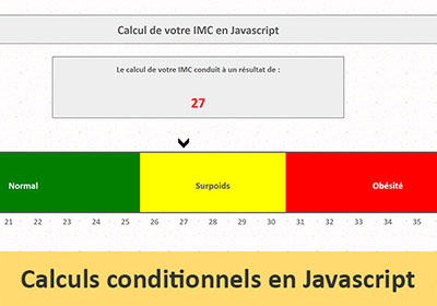 Calculs conditionnels en Javascript