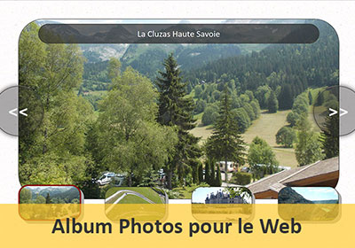 Créer un album photos internet en Javascript