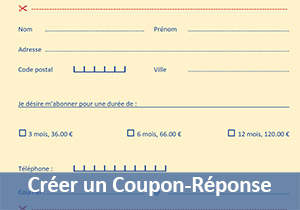 Creer des coupons budget