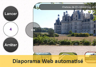 Diaporama automatisé de photos pour le Web en Javascript