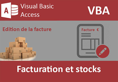 Facturation Access et gestion de stocks VBA