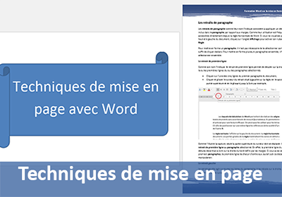 Mise en page de document avec Word