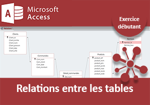Relations entre les tables, exercice Access