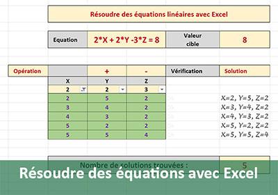 Calculs Sur Les Tableaux Filtres Avec Excel