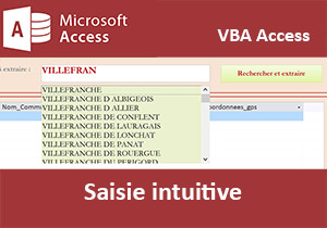 Saisie semi-automatique en VBA Access