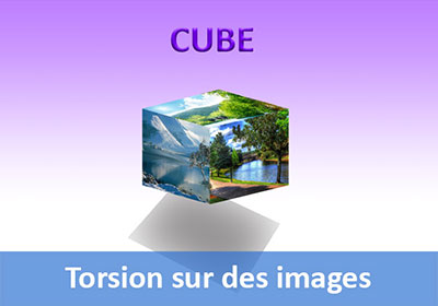 Transformation torsion sur des images avec Photoshop